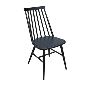 Replica Windsor Outdoor Dining Chair in Black