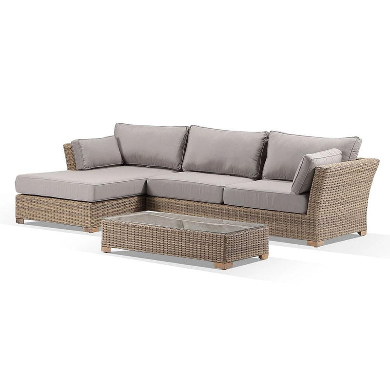 Coco Chaise Lounge with Sunbrella® cushions