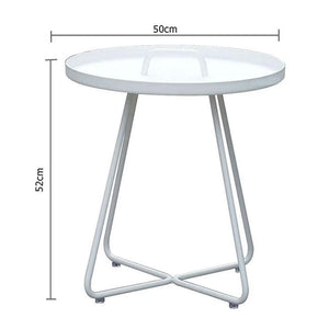 Willow Outdoor Aluminium Side Table