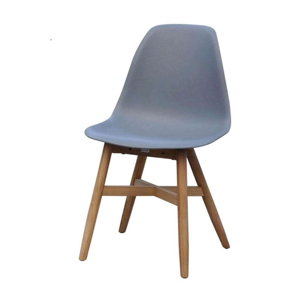 Harlow Outdoor Dining Chair in Grey