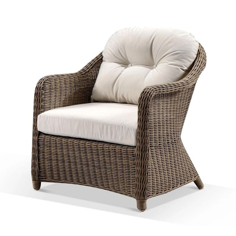 Plantation Outdoor Wicker  Lounge Arm Chair