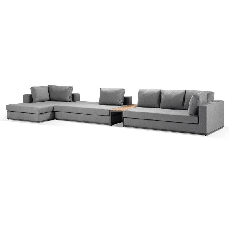 Jasper Outdoor Modular Corner Chaise Setting in Sunbrella®