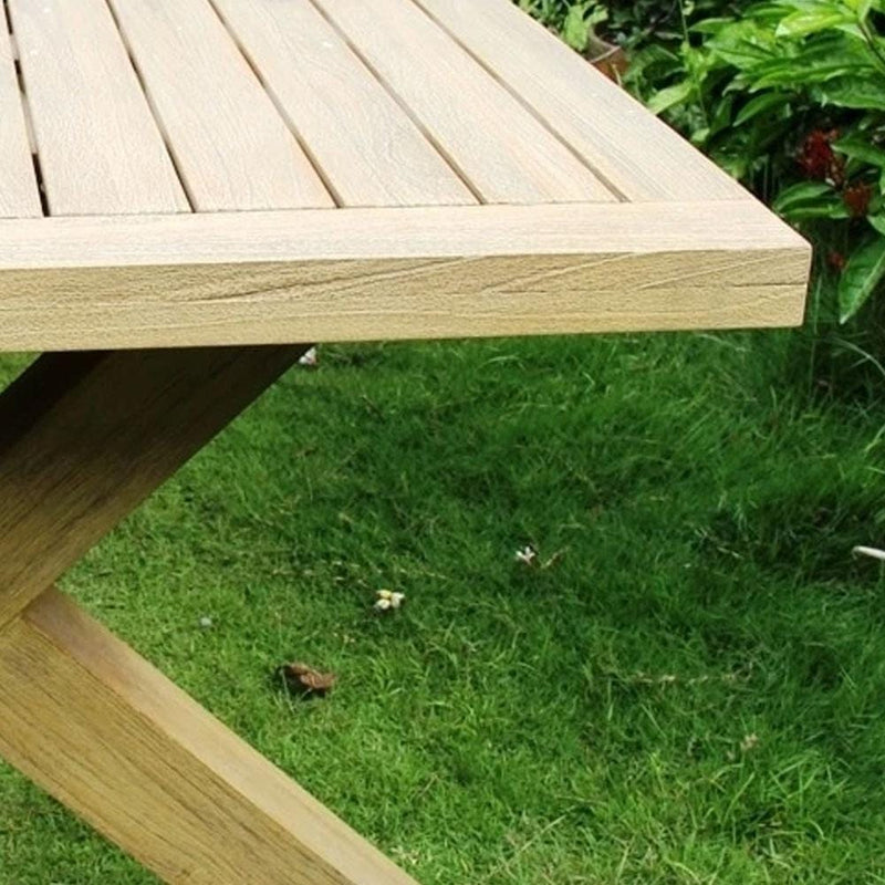 Tahitian Solid Teak 2.1m Outdoor Table