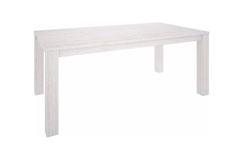 Notting Hill 1.8m Indoor Timber Dining Table in White Wash