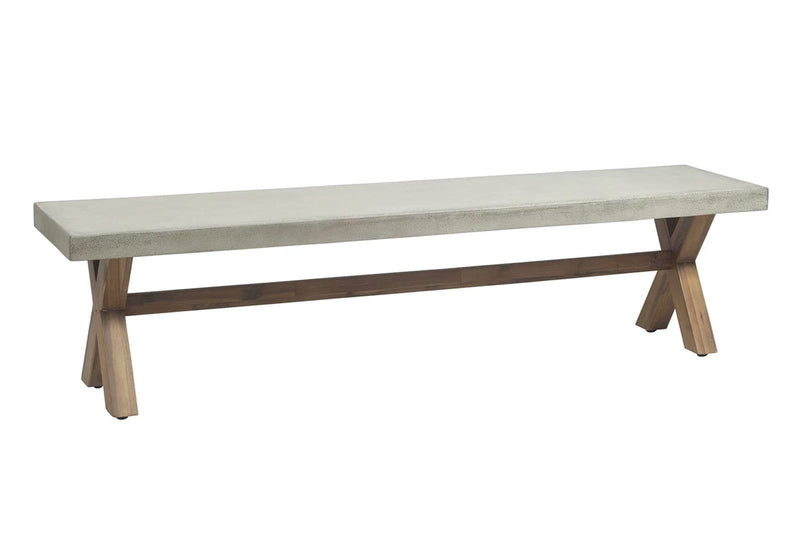 Rhodes 1.8m Poly Cement Bench Seat