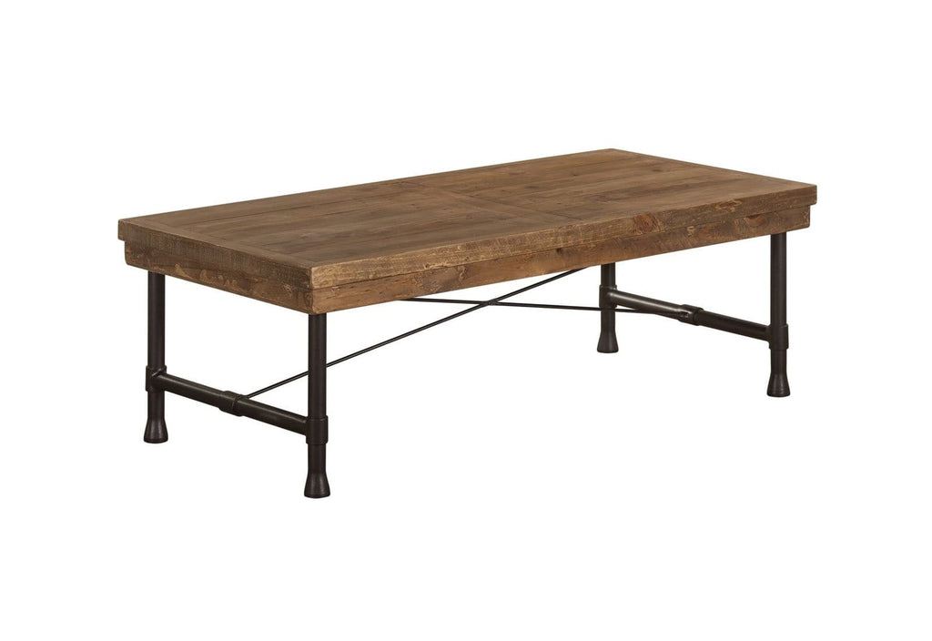 Hudson Industrial Coffee Table - Stonemill