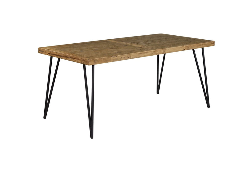 Barnhouse 1.8m Dining Table - Mid Century - Oslo