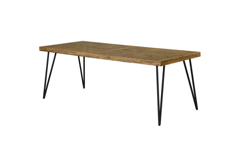 Barnhouse 2.2m Dining Table - Mid Century - Oslo