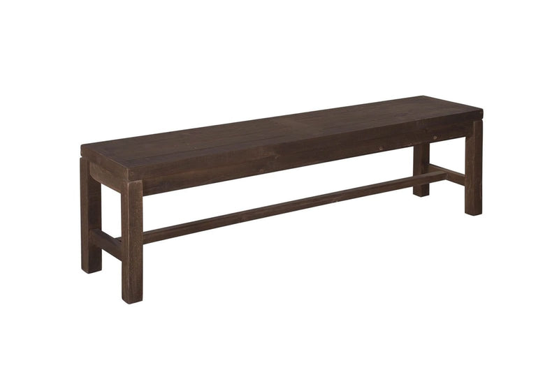 Hudson Industrial Bench Seat - Stonemill