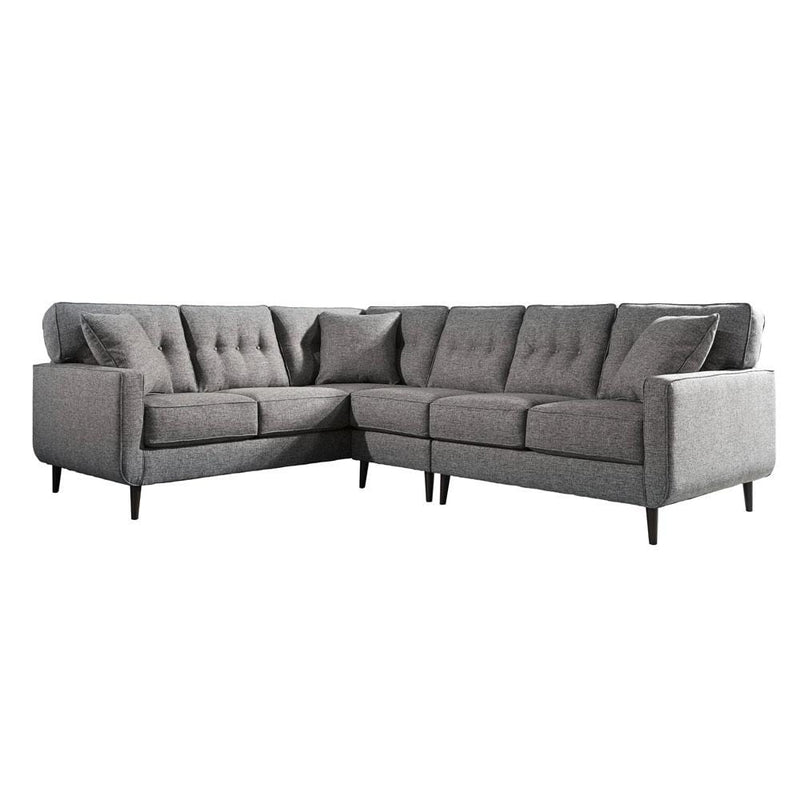 Frankie Indoor Fabric Corner Modular Lounge Suite