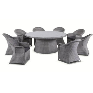 Plantation 8 Seater Dining Setting