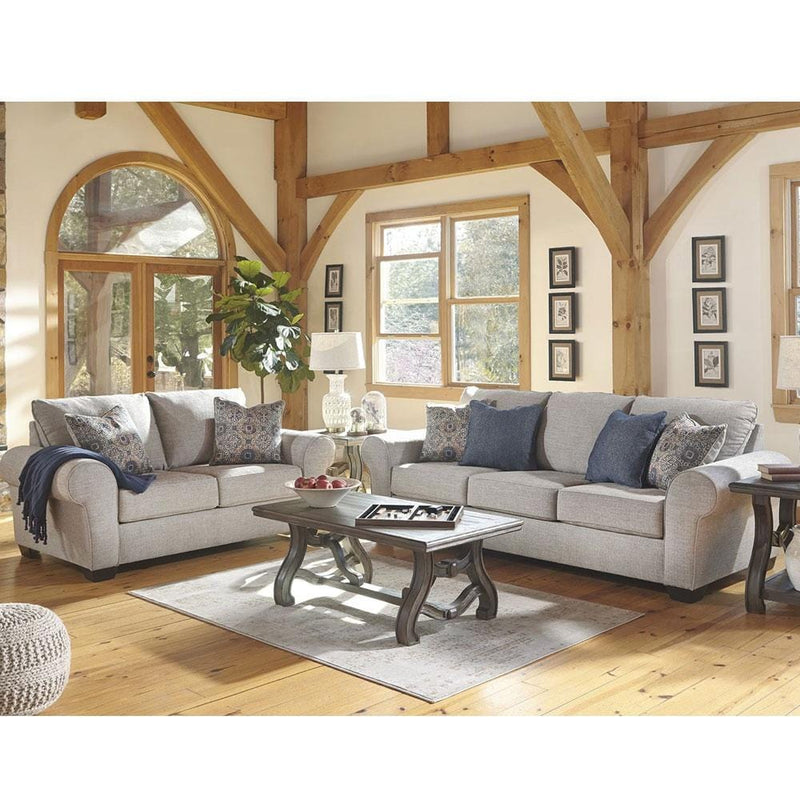 Olivia 3+2 Seater Indoor Fabric Lounge Suite Setting
