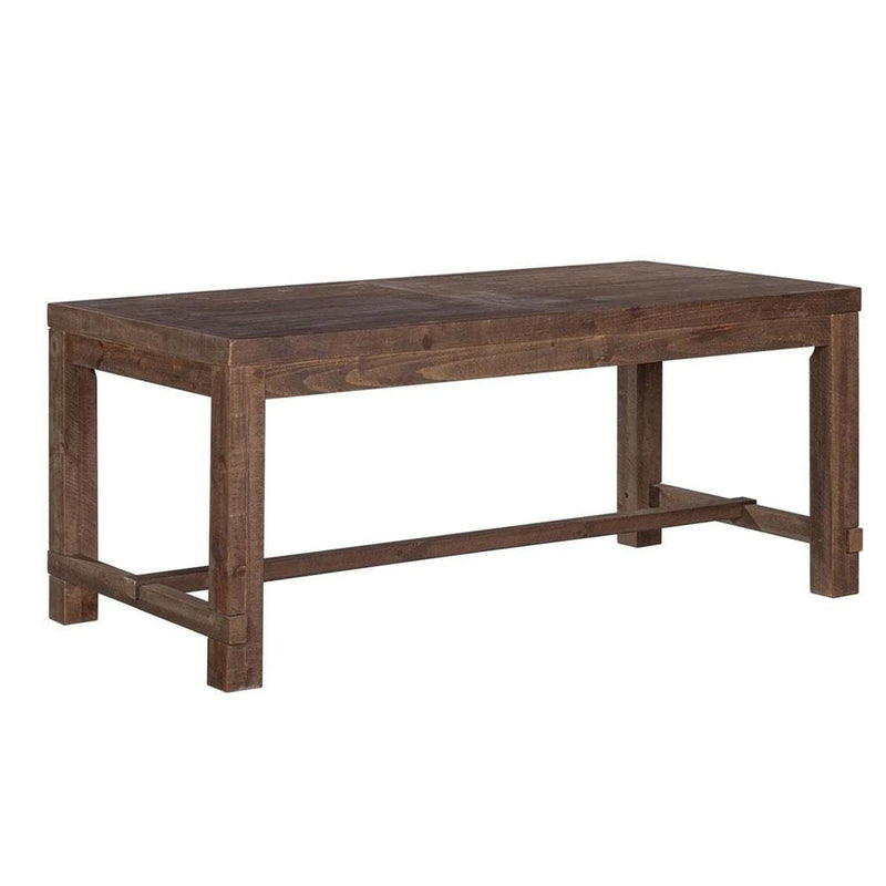 Hudson Industrial 1.8m Dining Table - Stonemill