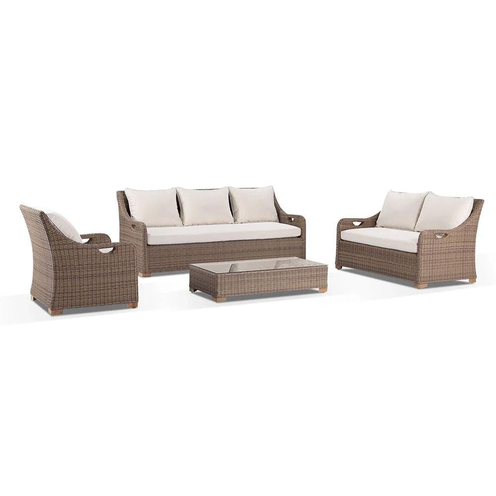 Randwick 3+2+1 - Outdoor Wicker Lounge Suite