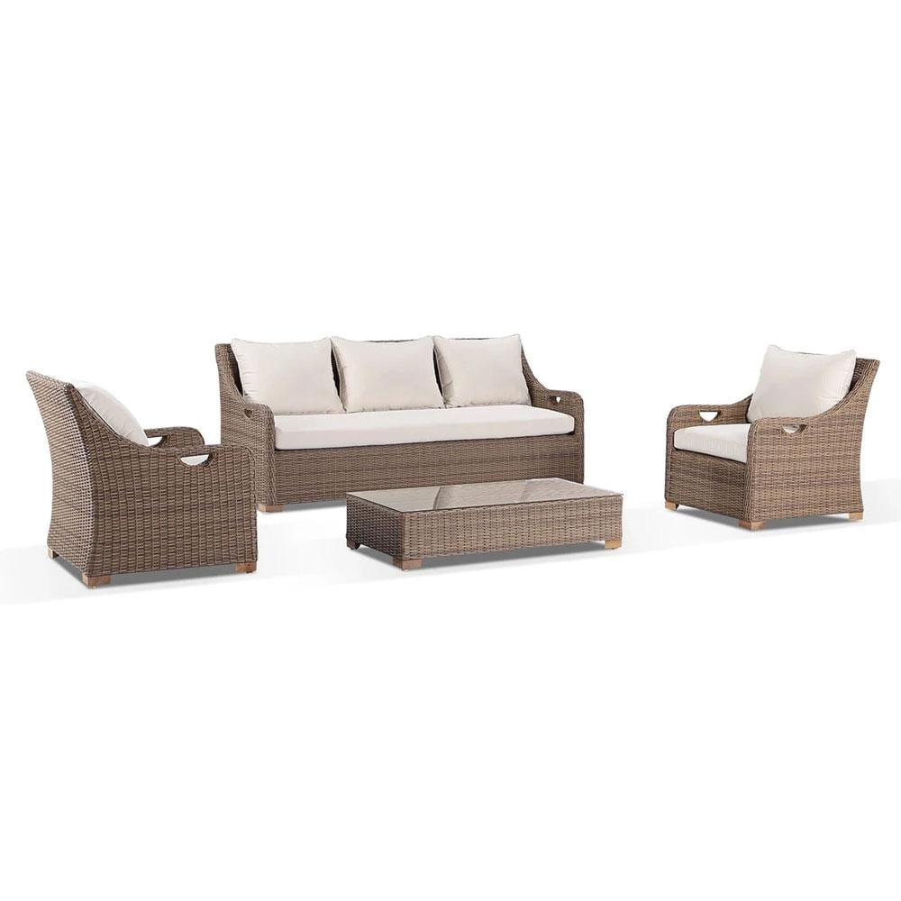 Randwick 3+1+1 - Outdoor Wicker Lounge Suite