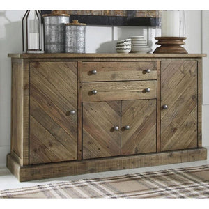 Oliver Indoor Timber Buffet Sideboard Server