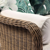 Plantation Outdoor Wicker 2 Seater Lounge
