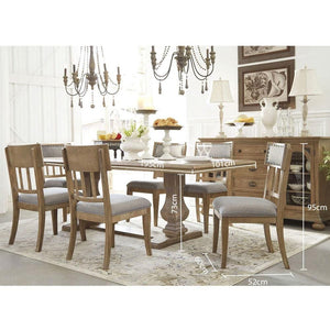 Fletcher Extension Dining Table Setting