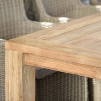 Cancun 3m Outdoor FSC Teak Timber Lifestyle Garden Dining Table