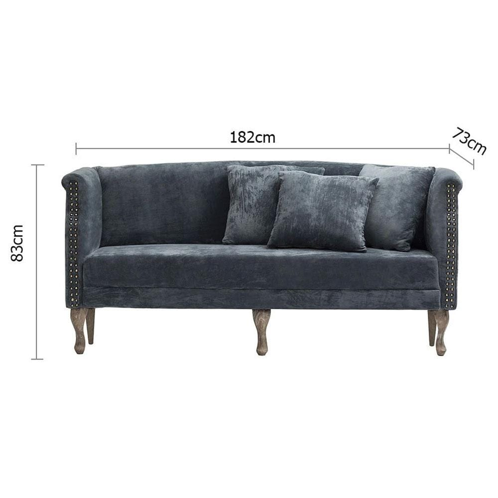 Velvet 3 Seater Indoor Lounge