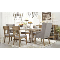Fletcher Extension Dining Table and Chairs Setting