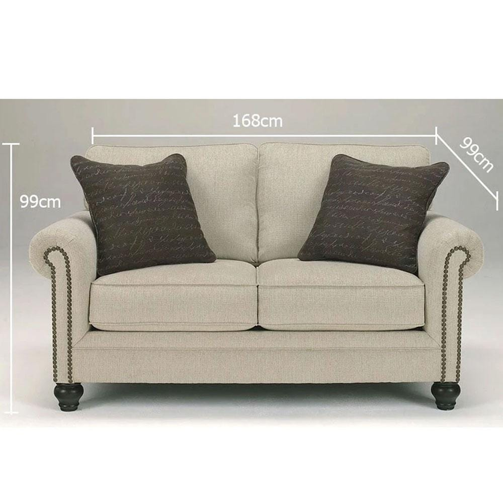 Grace 2 Seater Fabric Lounge