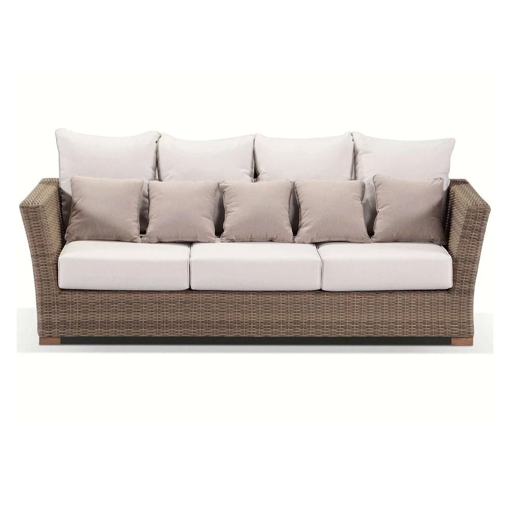 Coco 3 Seater - Huge 3 Seat DayBed In Outdoor Rattan Wicker