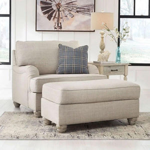 Isabelle 3+2+1 Fabric Lounge Suite with Ottoman
