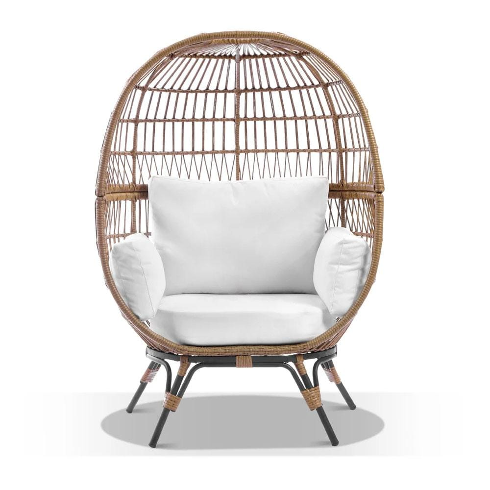 Pacific Outdoor Egg Chair with Legs