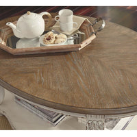 Hampton Timber Indoor Oval Coffee Table