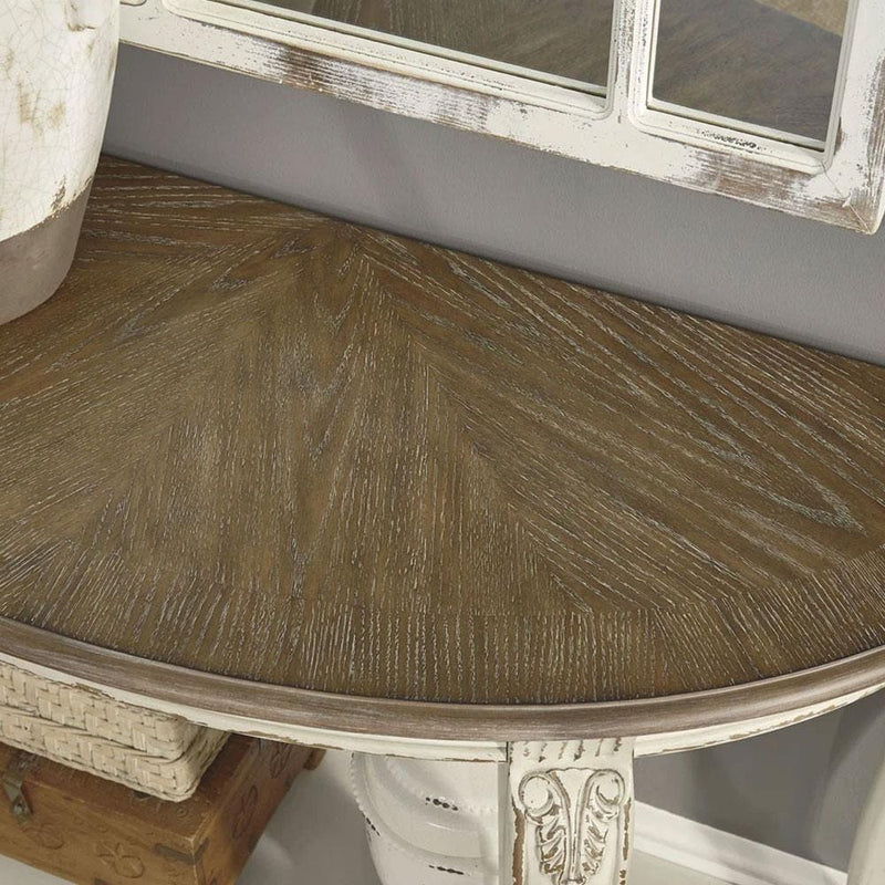 Hamptons Timber Indoor Hall Side Table