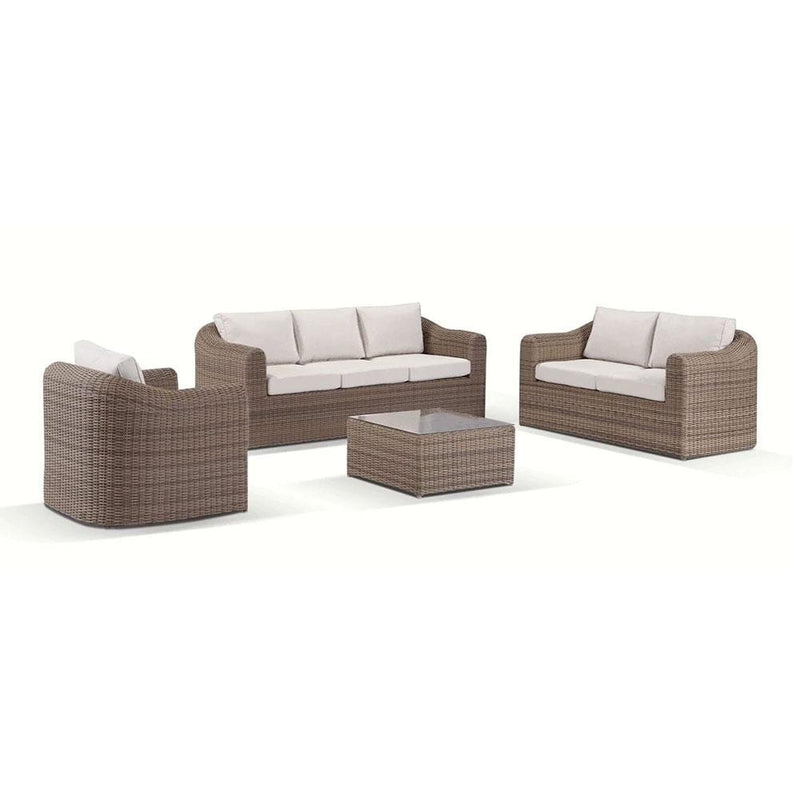 Subiaco 3+2+1 - Fixed Seat Outdoor Lounge
