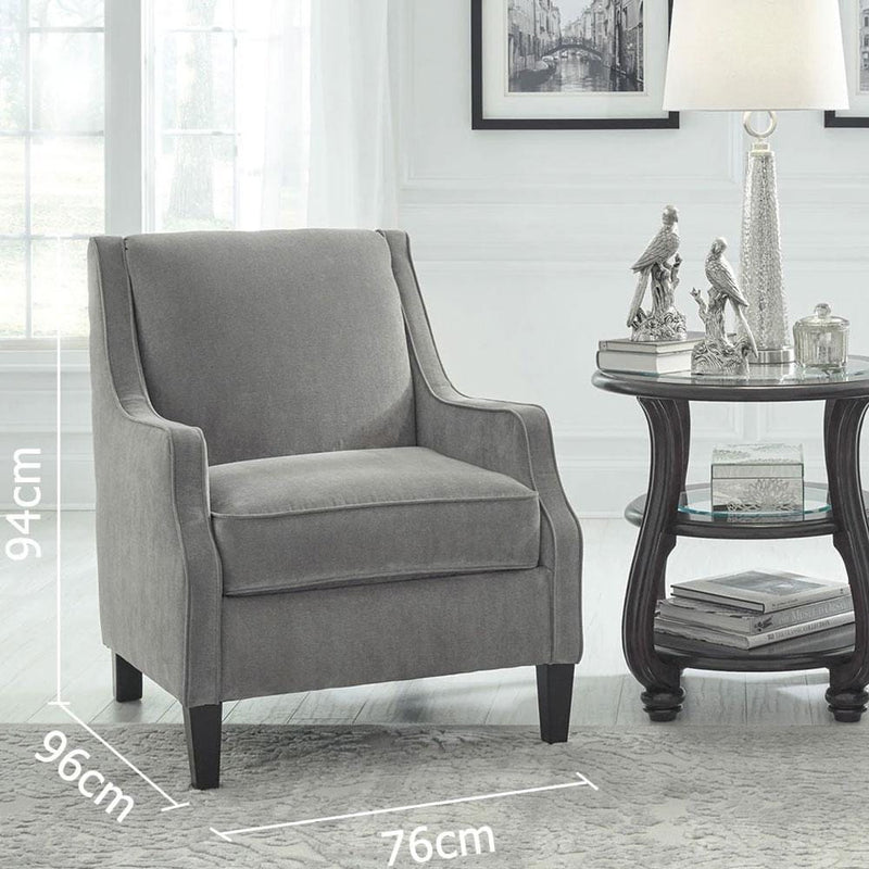 Charlotte 1 Seater Indoor Fabric Arm Chair