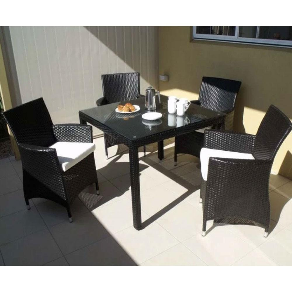 Roman 4 - 5pc Outdoor Dining Set