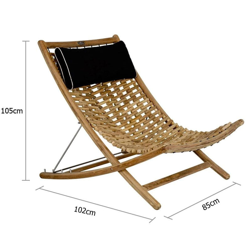 Large Kono Deck Lounger