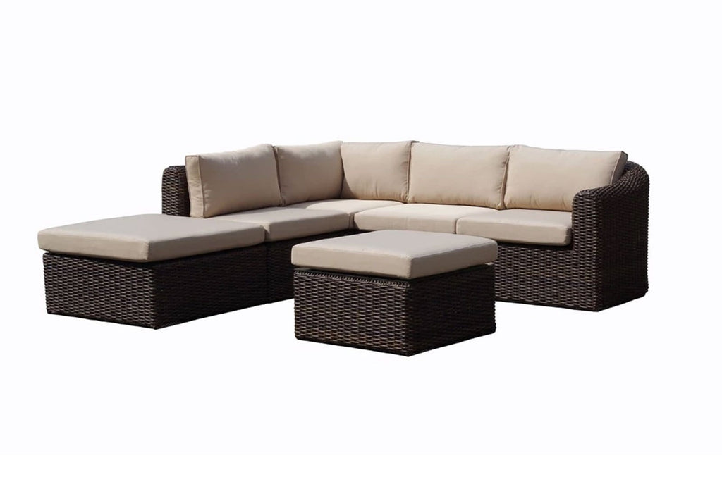 Subiaco Chaise - 6Pc Modular Outdoor Lounger