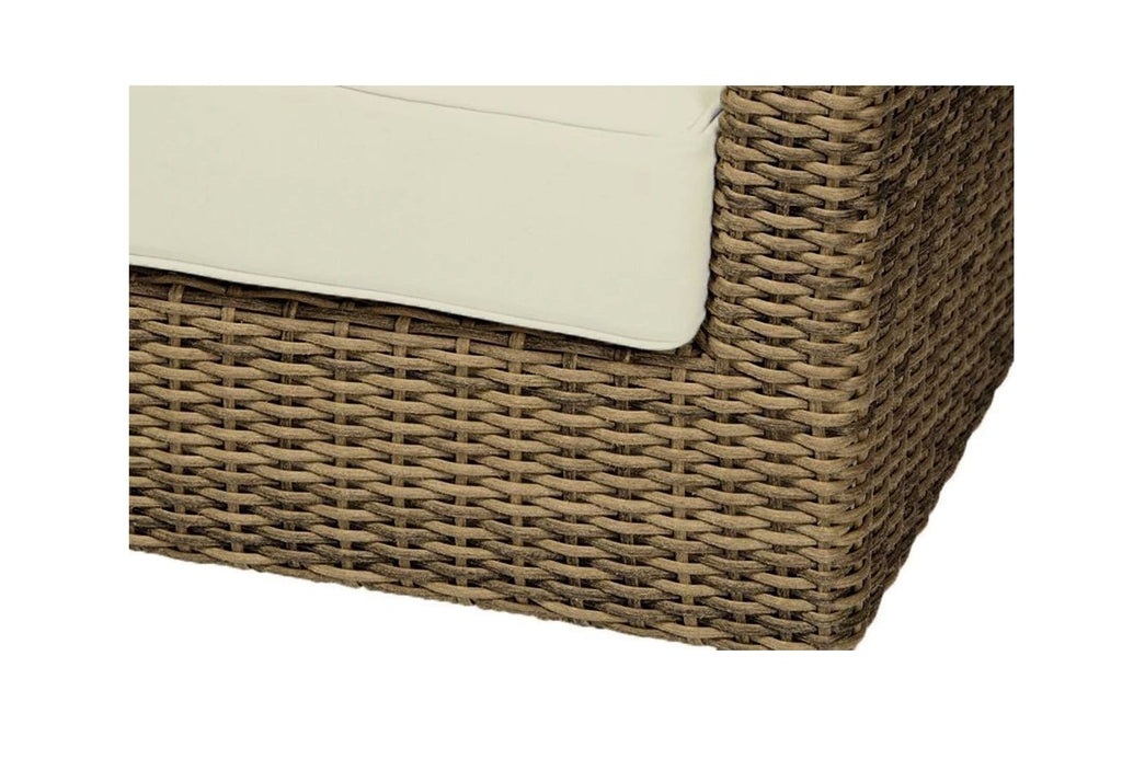 Randwick Package C - Outdoor Rattan Wicker Modular Sofa With Ottomans