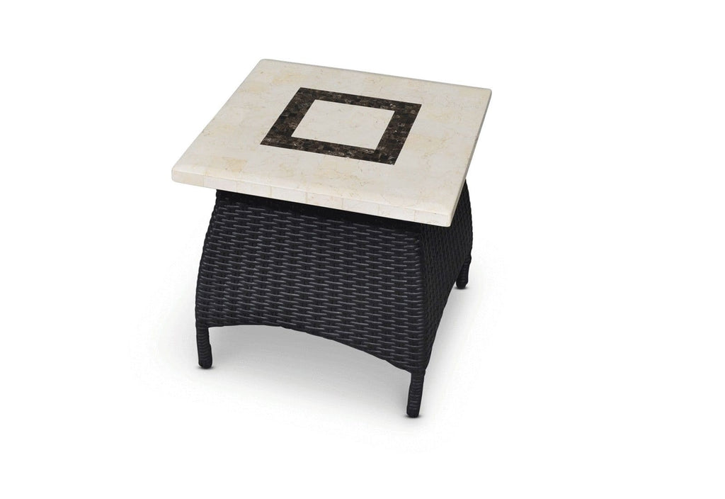Bali Stone Side Table - Stone Top Drinks Table