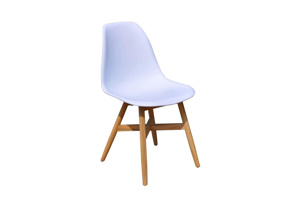 Harlow Outdoor Dining Chair in White