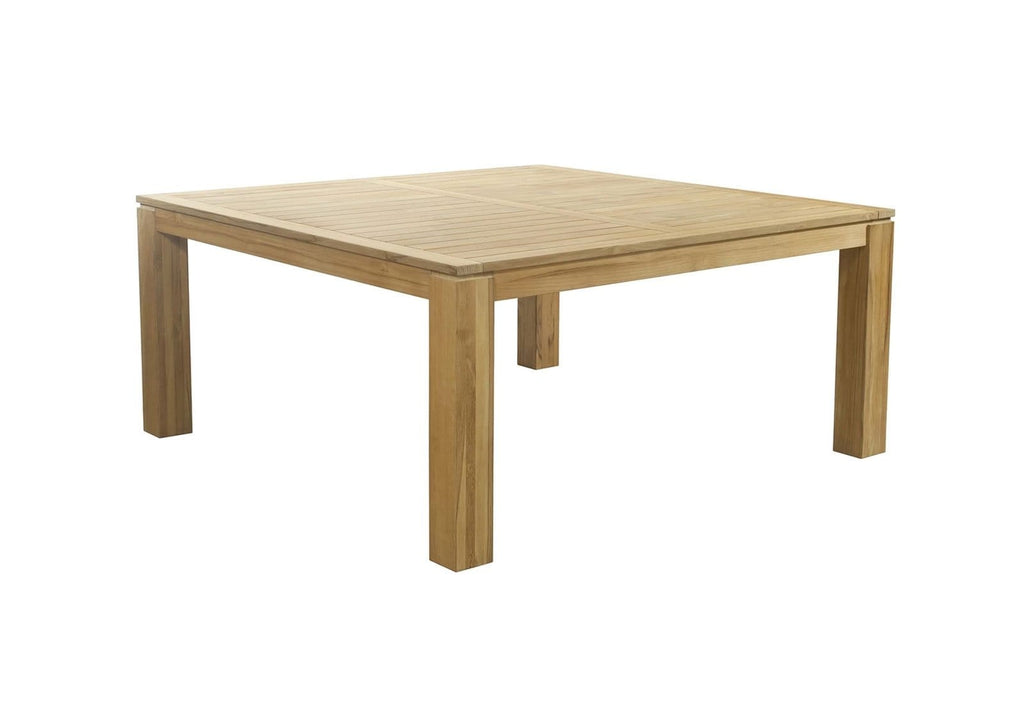 Entertainer 1.7m Square Teak Timber Dining Table