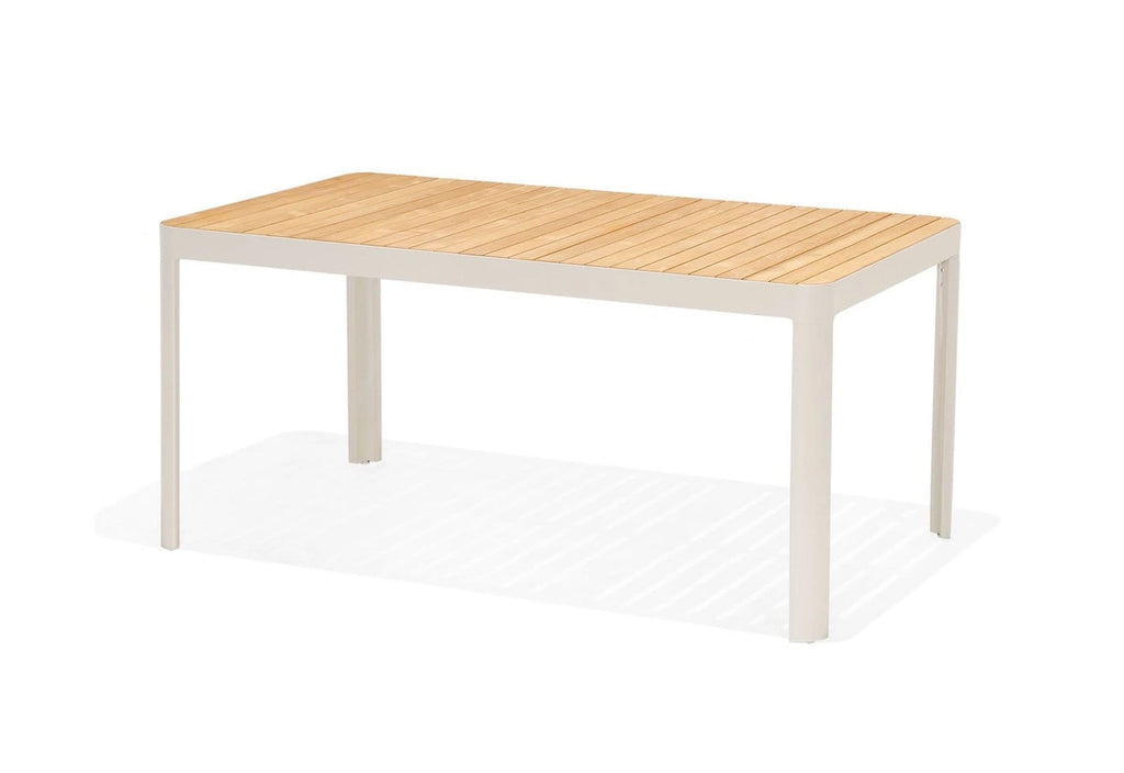 Bondi Teak top Aluminium Dining Table