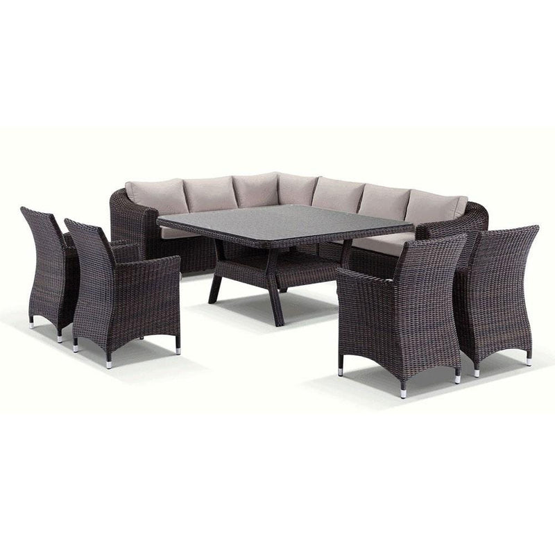 Subiaco 9 piece Lounge and Dining Setting