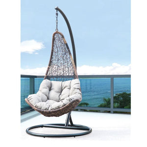 Marina Outdoor Hanging Egg Chair with Stand