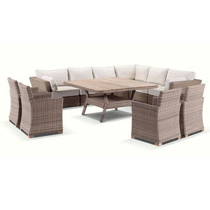 Coco 11 piece Lounge and Dining Setting