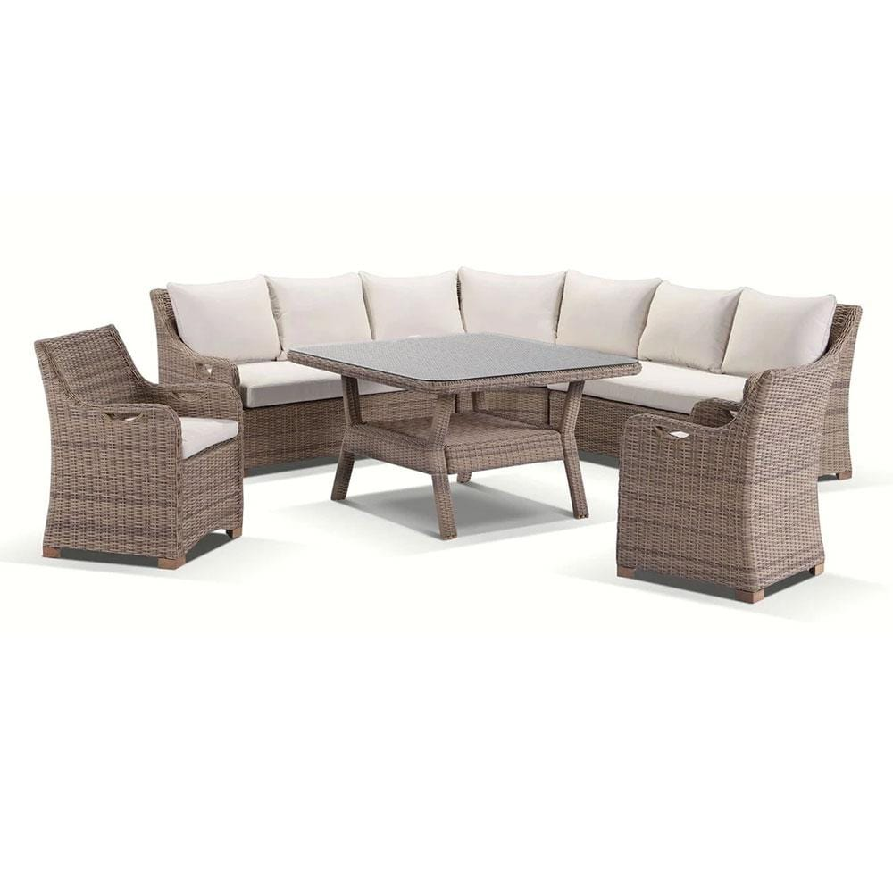 Randwick Package D - 6 piece Lounge and Dining setting