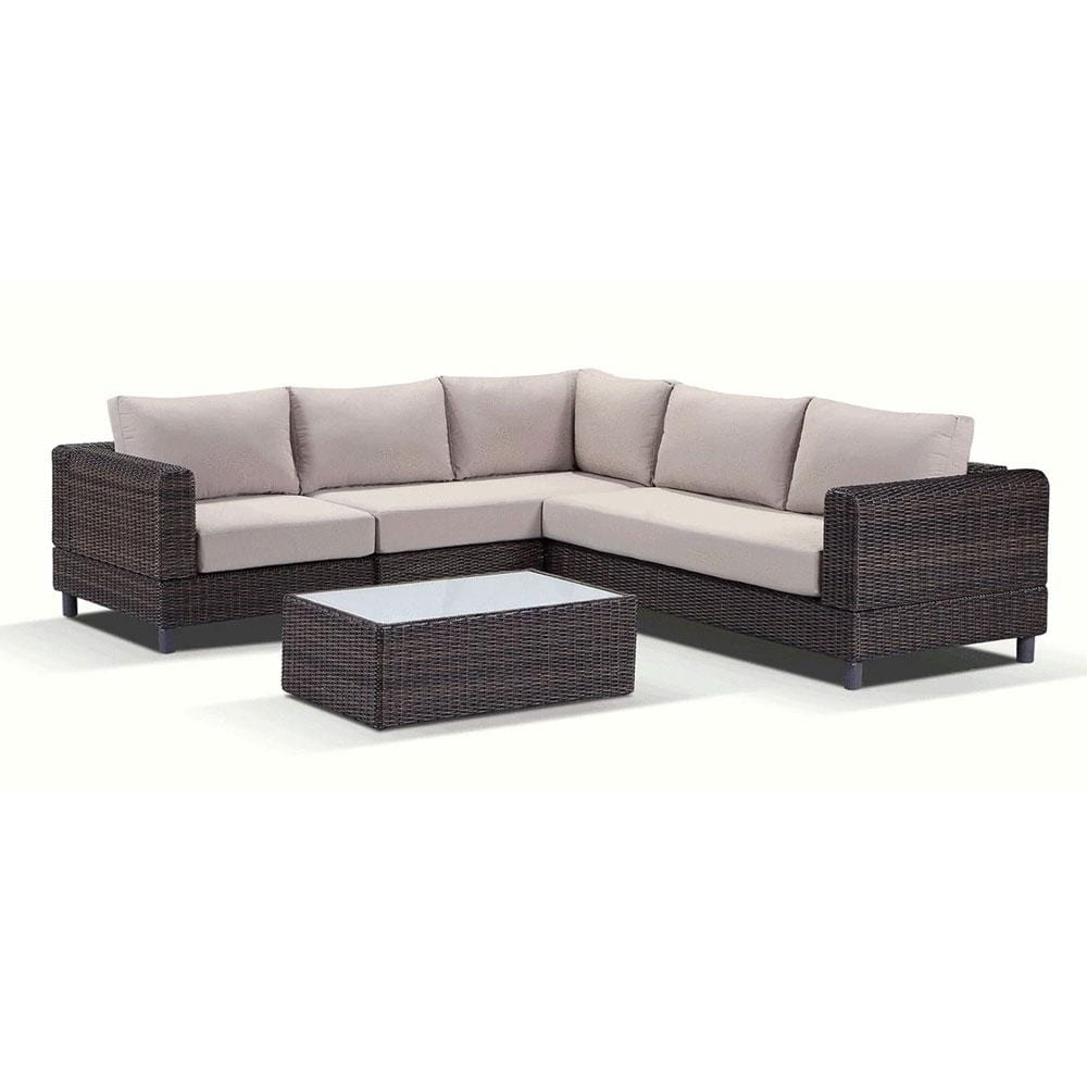 Baby Tasman Super Modular - Package C - Wicker Outdoor Corner Sofa