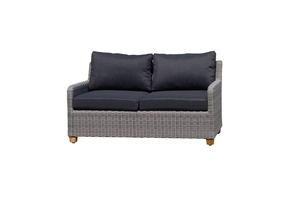 Blue Stone 3+2+1 Lounge in Brushed Grey