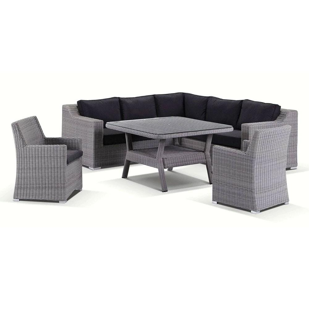 Milano 6 piece Lounge and Dining Setting - Package E