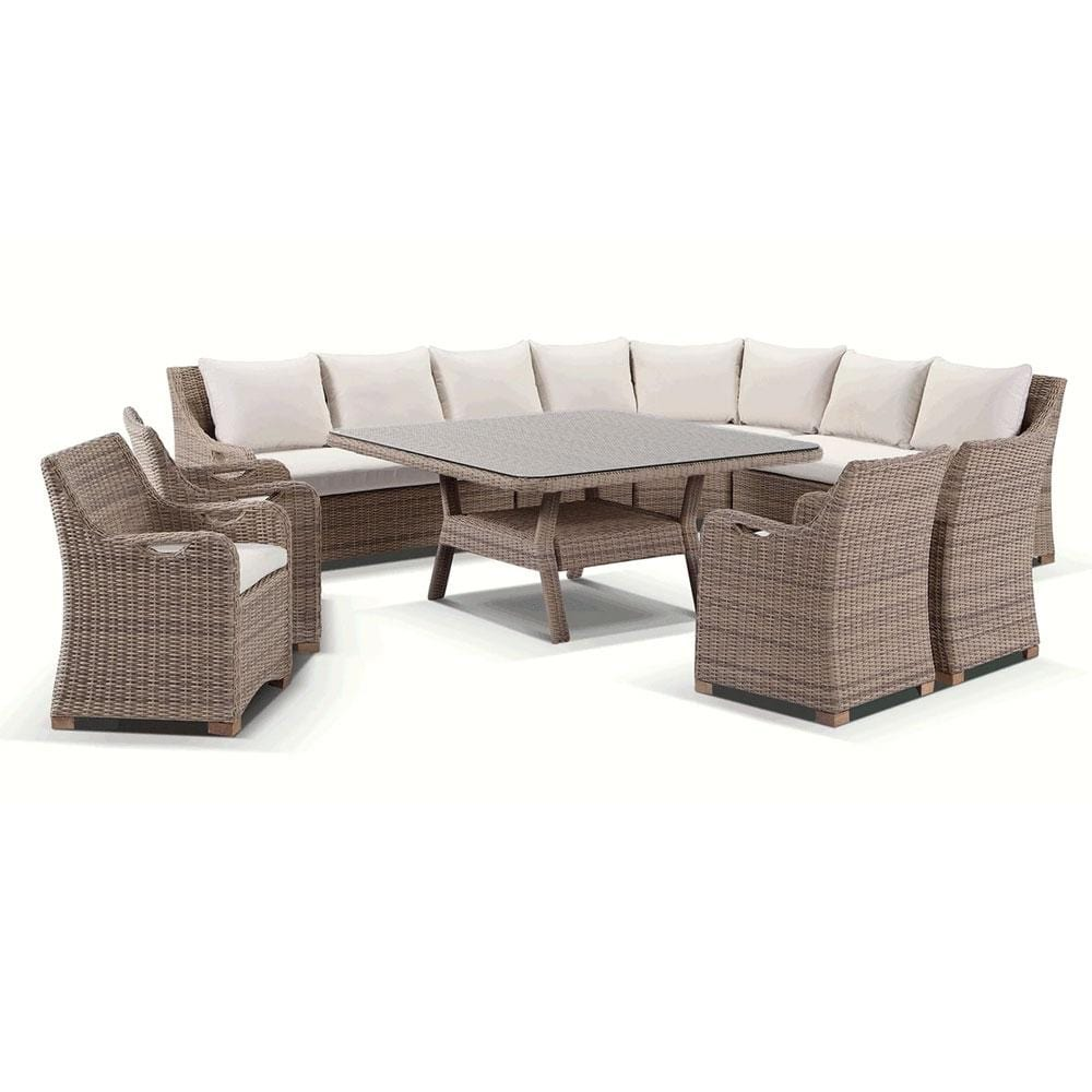 Randwick Package E - 9 piece Lounge and Dining Setting