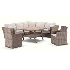 Coco 8 piece Lounge and Dining Setting